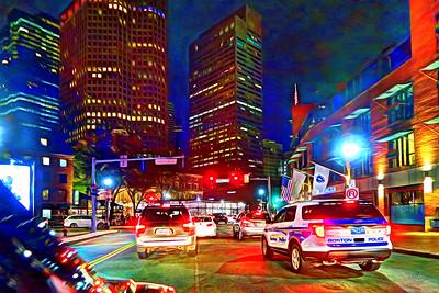 Boston Lyft ride