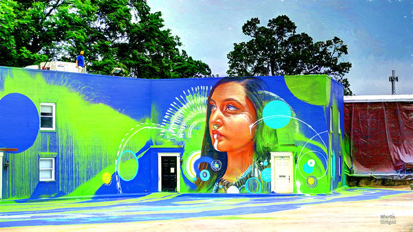 West Bessemer Square mural