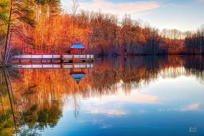 lake Janette gazebo