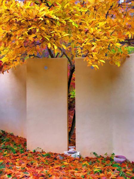 Garden wall joint