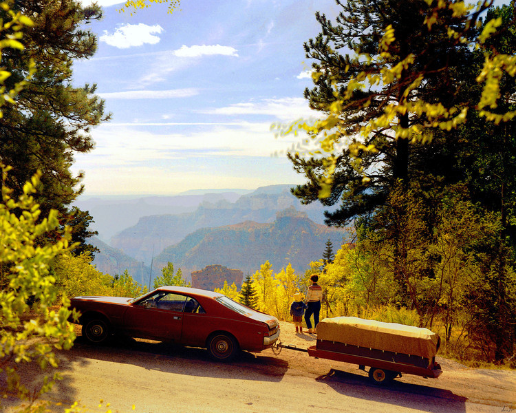 1968 AZ Grand Canyon North Rim