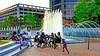Center City park the fountain