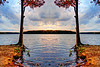lake Brandt marina cloud devil