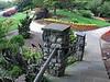 Bicentennial Garden leaf railing (fisheye effect)