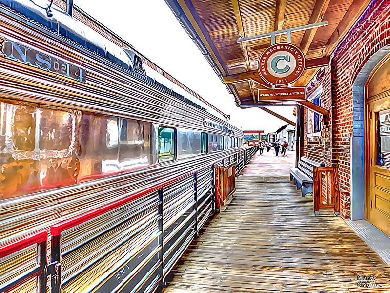 Spencer  TM train platform