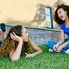 un15.09 / New photo requested of girls talking privately together / what characterizes children's friendships.  Choice  6 of 17