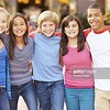 CO15.1 / Diverse group of adolescents showing positive emotion. Choice  6 of 21