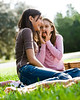 un15.09 / New photo requested of girls talking privately together / what characterizes children's friendships.  Choice 1 of 17
