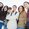 CO15.1 / Diverse group of adolescents showing positive emotion. Choice  16 of 21
