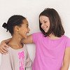 un15.09 / New photo requested of girls talking privately together / what characterizes children's friendships.  Choice  16 of 17