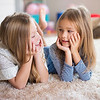 un15.09 / New photo requested of girls talking privately together / what characterizes children's friendships.  Choice  7 of 17