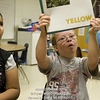 Un16.16 / New photo requested of child with down syndrome in classroom setting, choice 12 of 13