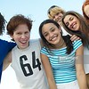 CO15.1 / Diverse group of adolescents showing positive emotion. Choice  10 of 21
