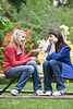 un15.09 / New photo requested of girls talking privately together / what characterizes children's friendships.  Choice 2 of 17