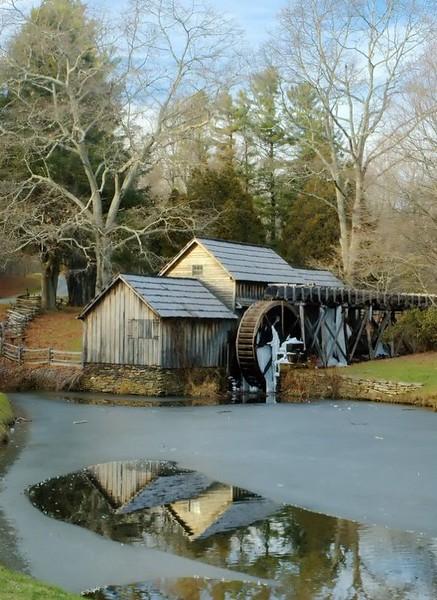 Mabry's Mill Winter