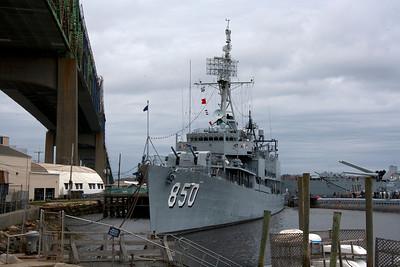USS Joseph P Kennedy Gearing Class Destroyer
