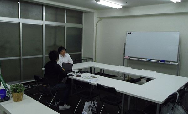田邉塾の教室スペースはこんな感じです