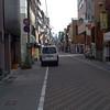田邉塾のある通り『平和通り』です。