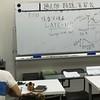 過去問・類題演習会の様子 解説講義・渋川代表講師による経済学解説中
