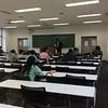 公務員試験学内講座での田邉塾長@嘉悦大学