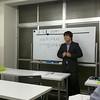 教養・専門本科生通学生コースにて。渋川講師民法の一コマ。