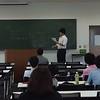 公務員試験学内講座での渋川講師@嘉悦大学