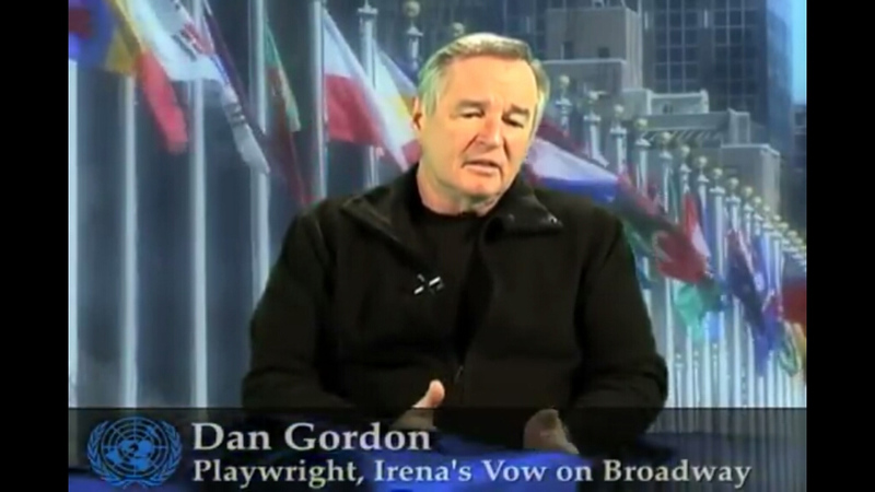 Dan Gordon at the U.N.