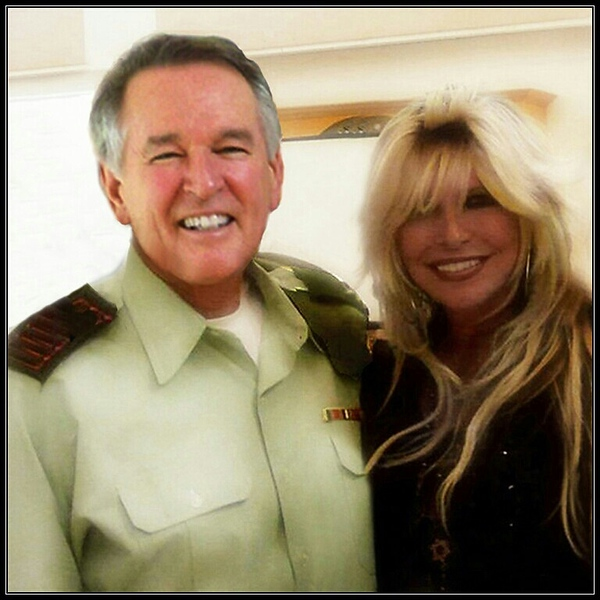 Dan Gordon Capt/ IDF (Ret) and Robin
