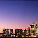 Print title:  Toronto at Twilight  /  File #   Tor_ 0001  / ©Gj