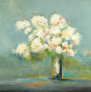 "Pastel Bouquet-Ridgers, 48""X48"""