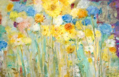 "Breezy-Jill Martin, 26""high x 40""wide on canvas"