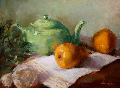 two pears for tea-Grubbs (sold)