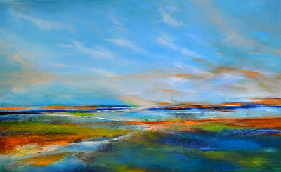 Abstracted Landscape-Welsh, 40x60 painting on canvas JPG-2