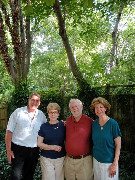 Visit to Dave and Nancy Savignac's home in Crofton, Maryland