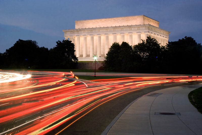 ABRAHAM LINCOLN MEMORIAL TRAFFIC TRAILS