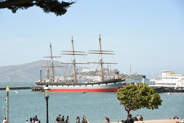 San Francisco - Alcatraz,  Giants, Golden Gate Bridge