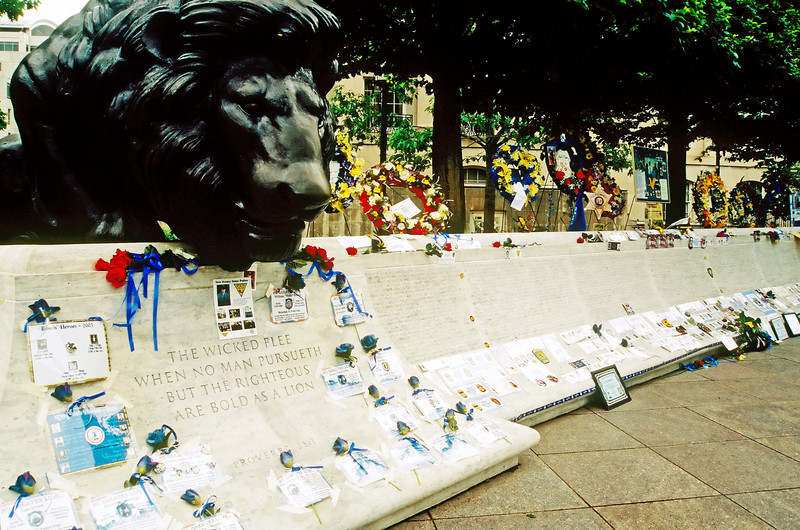 NATIONAL LAW ENFORCEMENT MEMORIAL ,DURING POLICE WEEK IN WASHINGTON D.C.