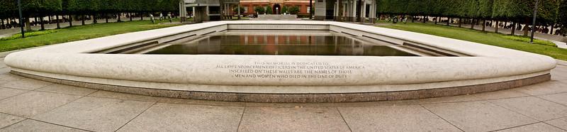 NATIONAL LAW ENFORCEMENT MEMORIAL (PANORAMA 3)