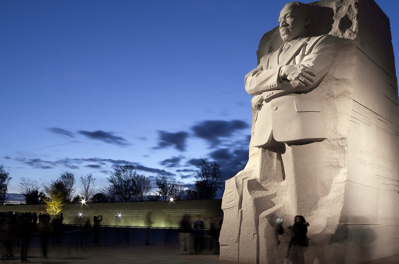 MARTIN LUTHER KING JR. MEMORIAL<br /> IMAGE 5917