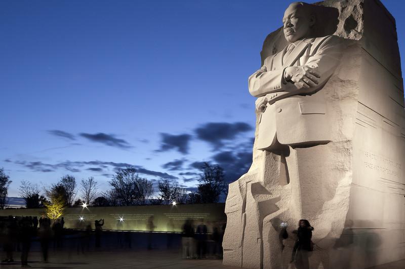 MARTIN LUTHER KING JR. MEMORIAL<br /> IMAGE 5917