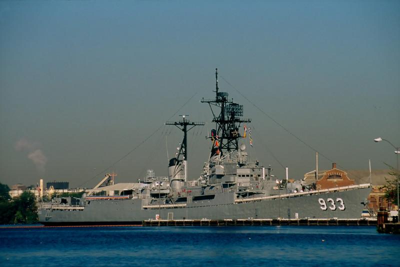 DISPLAY SHIP BARRY, IN THE WASHINGTON NAVY YARD
