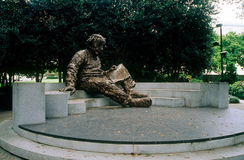 ALBERT EINSTEIN MEMORIAL IN WASHINGTON D.C.