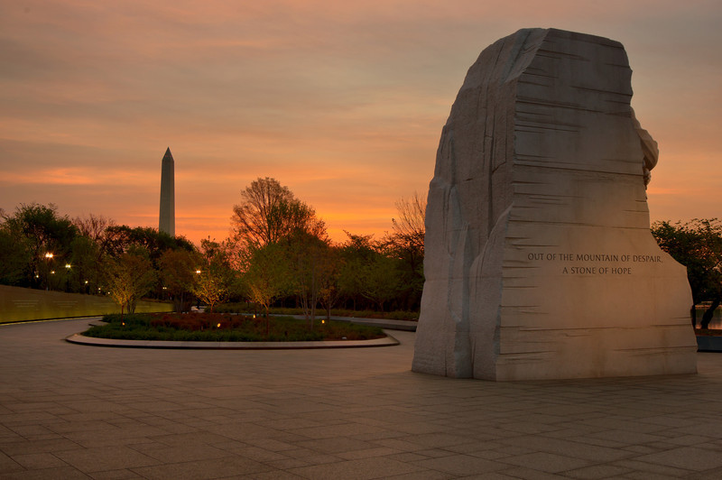 MARTIN LUTHER KING JR. MEMORIAL<br /> IMAGE 5955