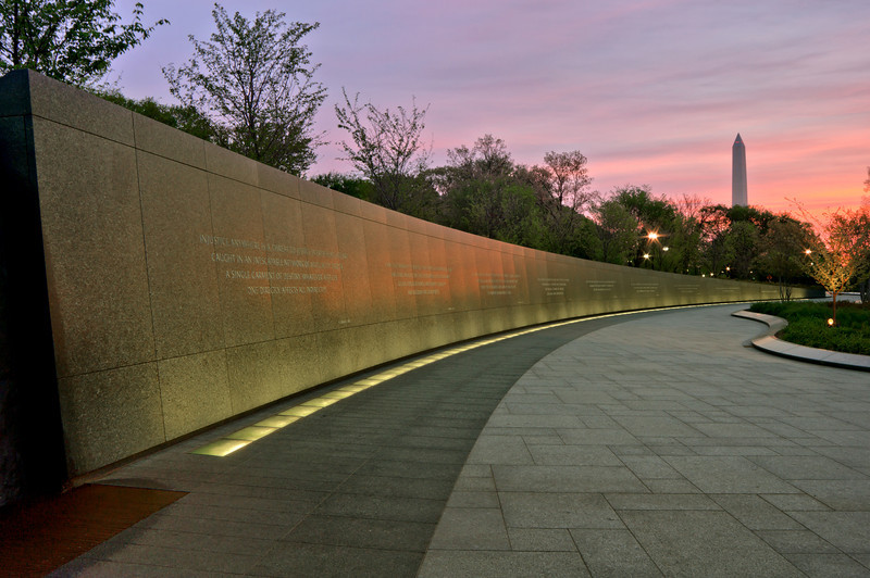 MARTIN LUTHER KING JR. MEMORIAL<br /> IMAGE 5945