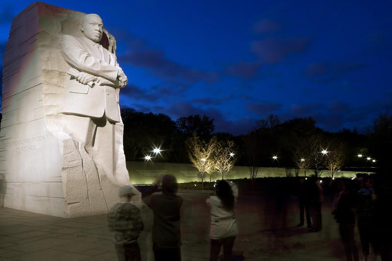 MARITN LUTHER KING JR. MEMORIAL<br /> IMAGE 5915