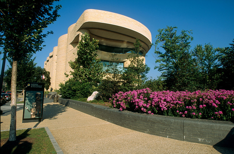 NATIVE AMERICAN MUSEUM IN WASHINGTON D.C.