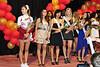 Senior Royalty: Laura Detrow, Noa Glaser, Nurie Kim, Madeline Sloan, and Cindy Lee