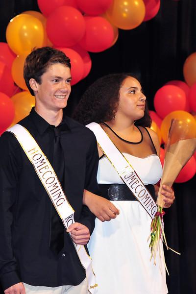 Freshman Royalty: Scotty Gange and Sherrie Antoun