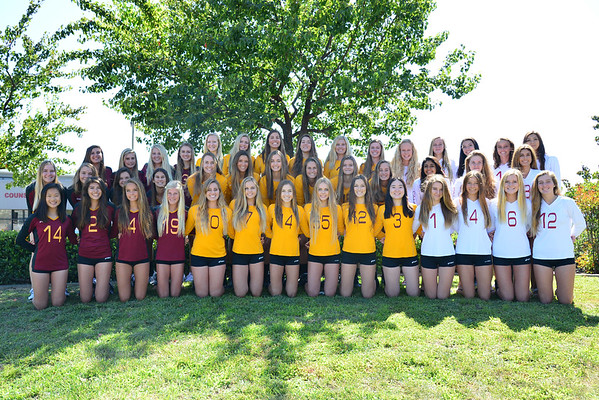 TP Girls Volleyball 2015