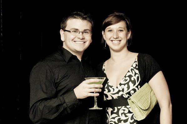 Dustin Lynn and Mandy Morgan